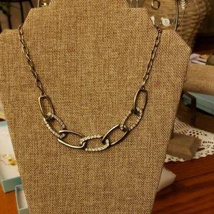 Necklace by Touchstone crystal by Swarovski